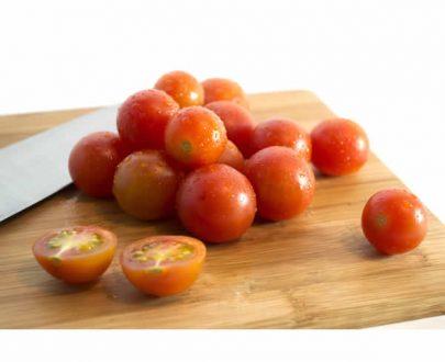 Tomate cherry organico