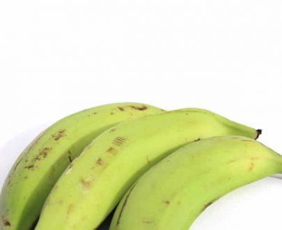 Plátano verde orgánico