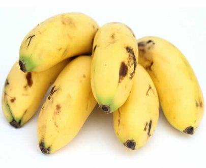 Banano bocadillo orgánico
