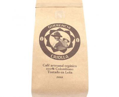 Cafe artesanal tostado en leña