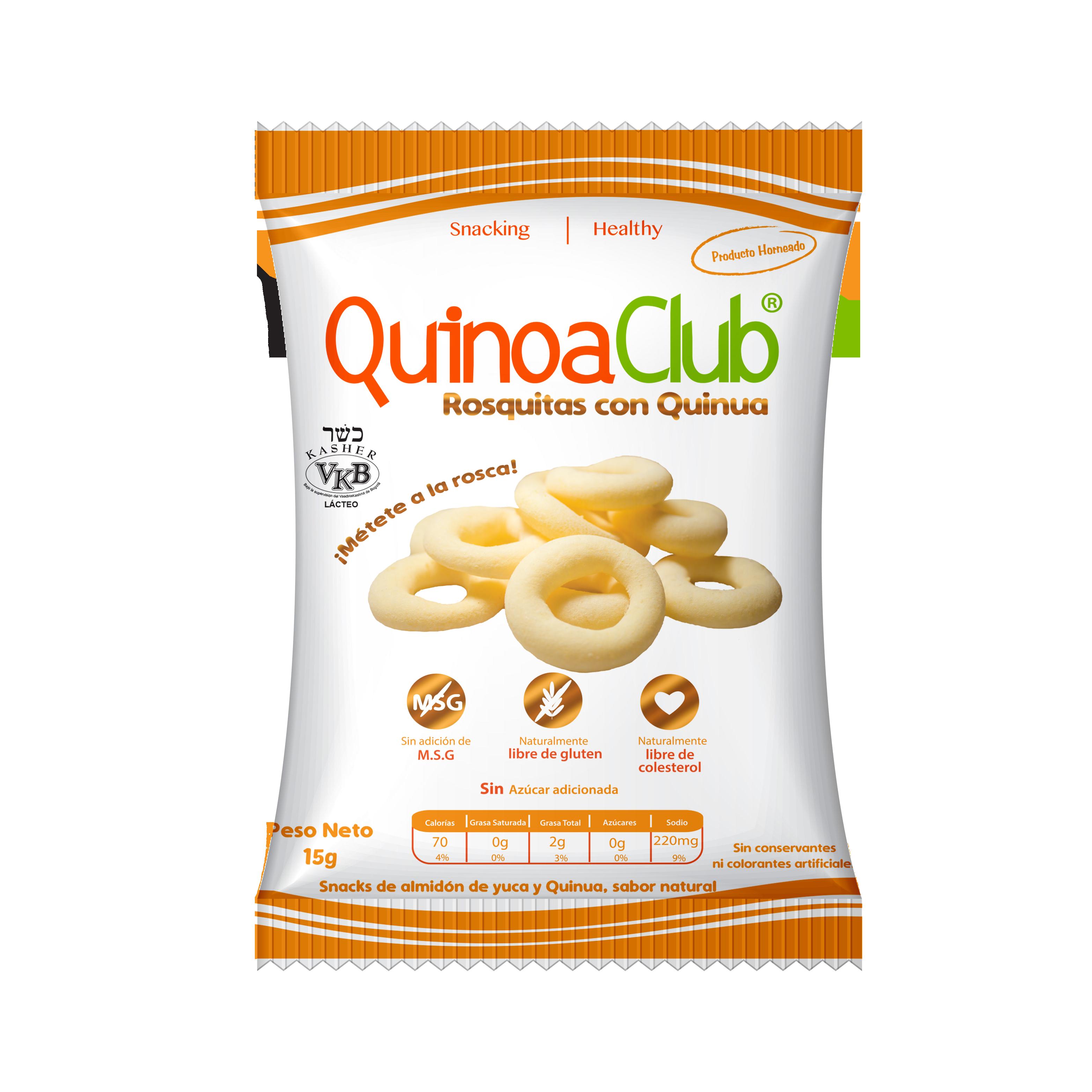 Rosquitas con quinoa essencia tienda alimentos saludables for Club natura colchones
