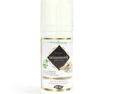 Desodorante hombre libre de parabenos y aluminio