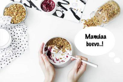 Desayuno saludable para niños, fácil y rápido