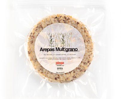 arepas multigrano libres de gluten