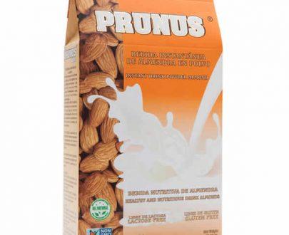 leche de almendras prunus en polvo 100% vegetal