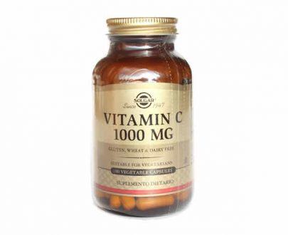 Solgar vitamina C 100 capsulas 1000mg