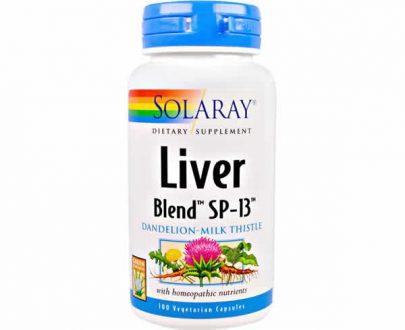 Liver (Higado) Solaray 100 cap.