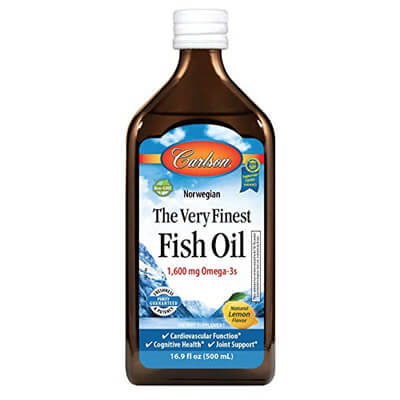 Fish Oil Carlson omega3 500ml