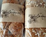 Pan artesanal de avena y arandano