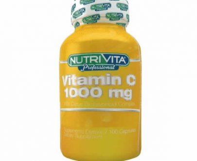 Nutrivita Vitamina C 100 capsulas