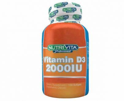 Nutrivita Vitamina D3 2000UI