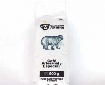 Cafe oso andino