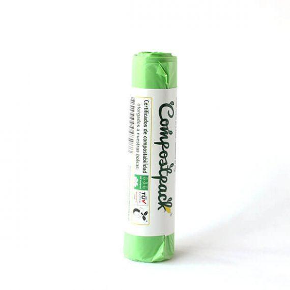 Bolsas biodegradables compostables pequeñas
