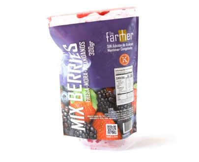 Mix de berries kosher congelado 300gr